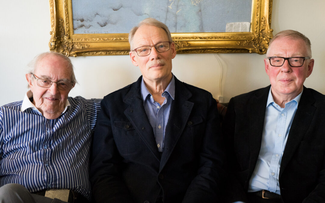 Tre vise män minns från IBRAs 60 år